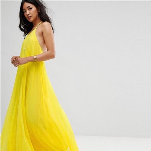 Yellow beautiful dresses